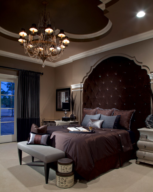 Lake Mary Rustic Style Residence Transitional Bedroom Orlando By Roman Interior Design