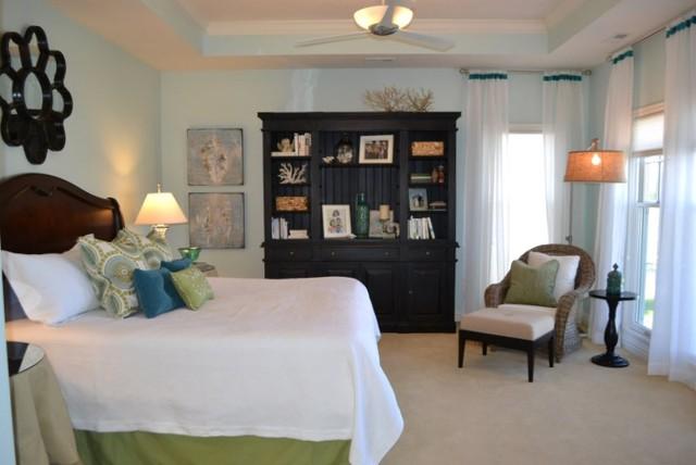Lake Master Bedroom traditional-bedroom