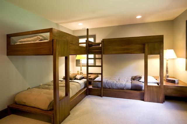 Lake Michigan Retreat contemporary-bedroom