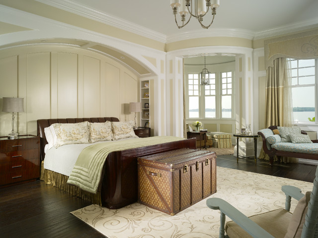 traditional bedroom by Harrison Design Associates - Atlanta
