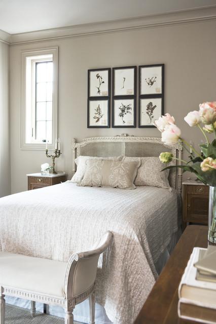 Lake Residence transitional-bedroom