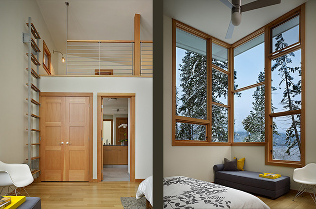 Lake Wenatchee Cabin Modern Bedroom Seattle By