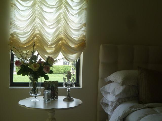 Romantic/Dreamy transitional-bedroom