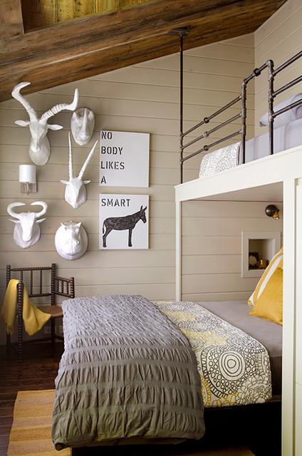 Lakefront Camp Contemporary Bedroom Portland Maine By Kristina Crestin Design