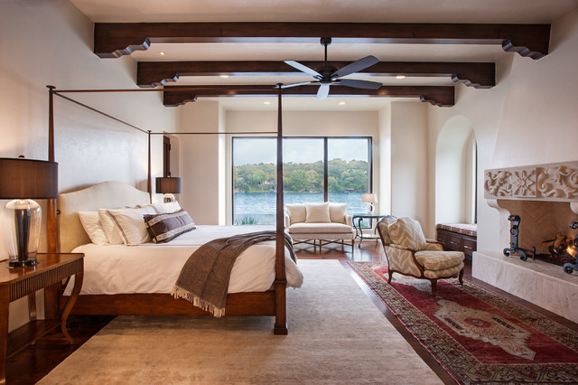 Lakefront Master Suite contemporary-bedroom