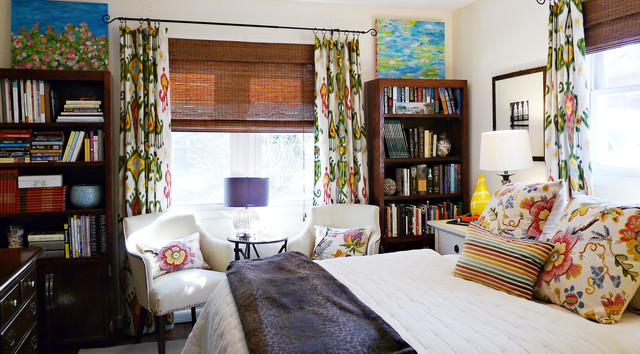 Lakehouse Bedroom Makeover eclectic-bedroom
