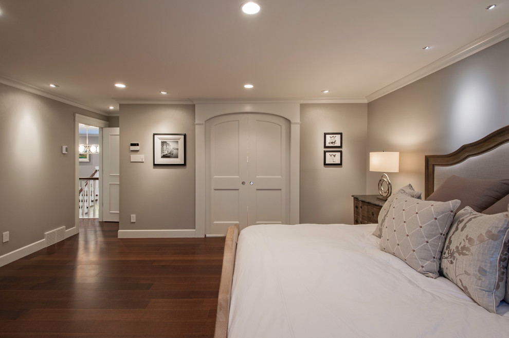 Inspiration for a timeless bedroom remodel in Vancouver