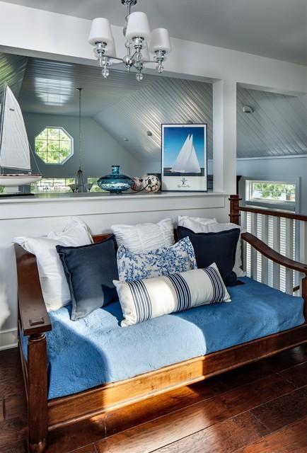 Lakehouse Beach Style Bedroom Dallas By Kim