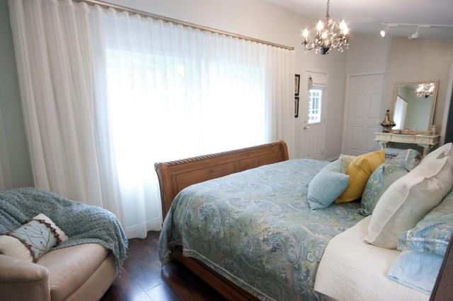 Lakeside Serenity Retreat traditional-bedroom