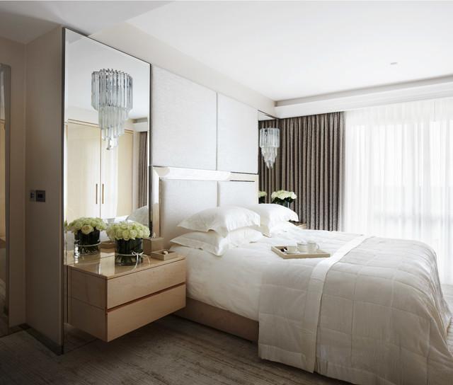 Lancelot Place Knightsbridge Contemporary Bedroom London By