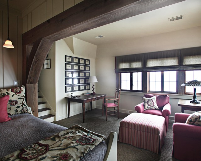 Landrum SC residence traditional-bedroom