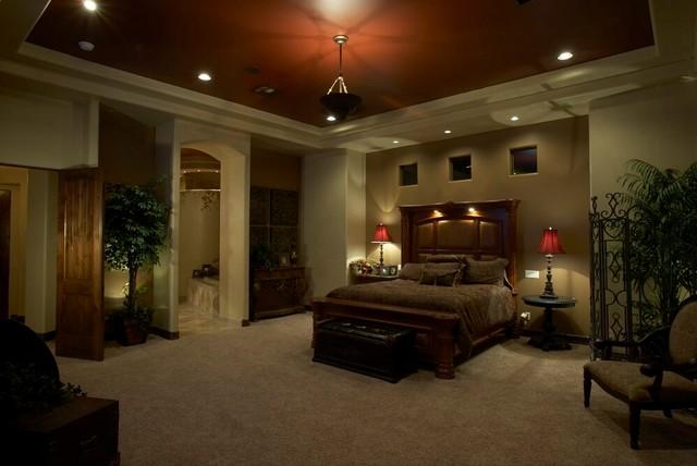 Las Sendas mediterranean-bedroom
