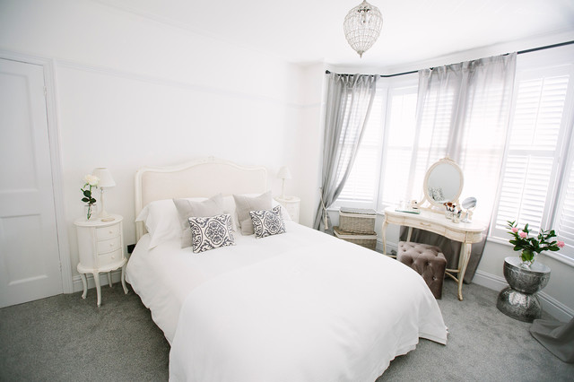 laura 39 s master bedroom shabby chic style bedroom london by my