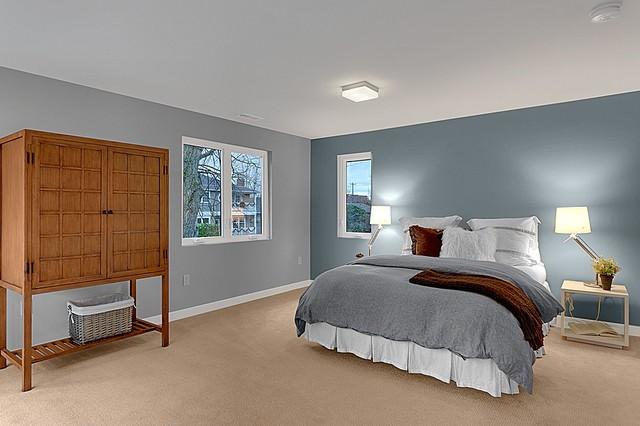 Laurelhurst Seattle Rehab contemporary-bedroom