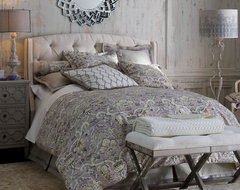 """Lavender Gray"" Bedroom traditional-bedroom"