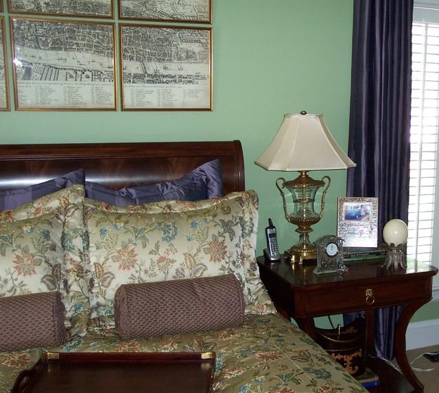 Lavender Love traditional-bedroom