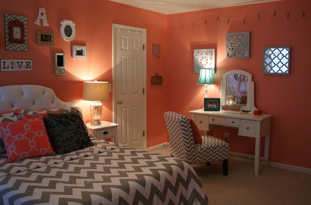 Incroyable Lawson Residence Coral Bedroom Transitional Bedroom