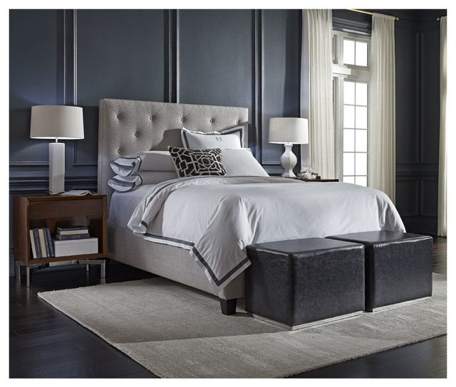 Layla Bed And Beau Nightstands Modern Bedroom