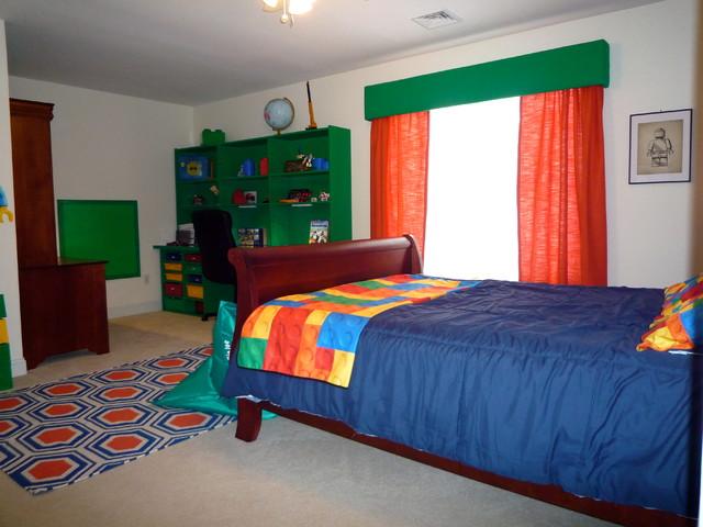 lego themed bedroom eclectic bedroom