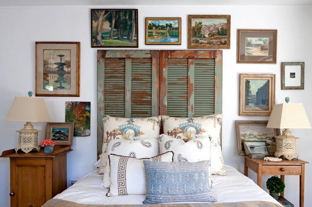 Leslie Hunt Westwood Shabby Chic Style Bedroom Los