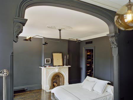 Levenson McDavid Architects eclectic bedroom