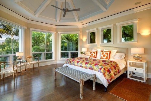 tropical bedroom Eco Friendly Bedroom Planning and Design