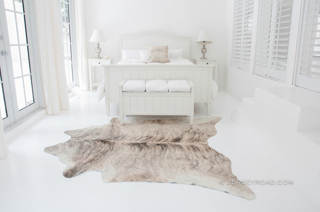Light Brindle Cowhide Rug - Contemporary - Bedroom - Other - by ...
