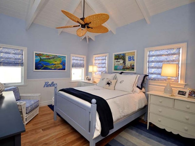 Lighthouse Interiors Tropical Bedroom Miami By