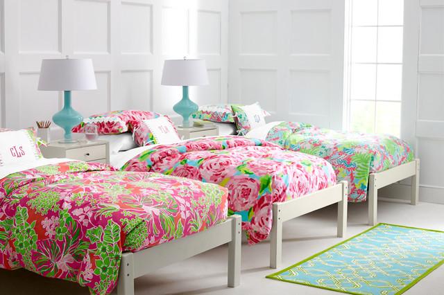 Superbe Lilly Pulitzer Sister Florals BedroomTraditional Bedroom, Burlington