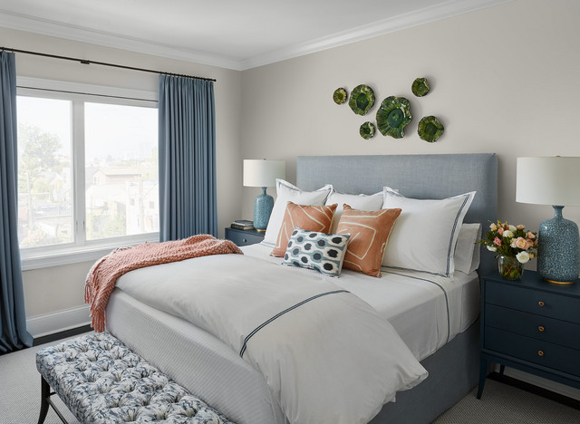 Lincoln Park Home Transitional Bedroom Chicago By