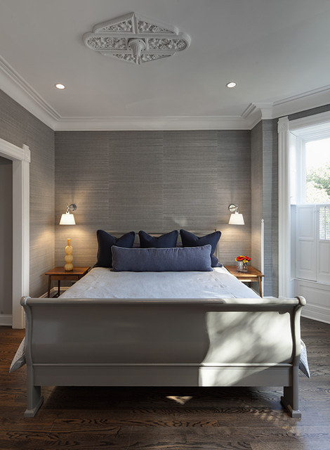 Lincoln Park Residence contemporary-bedroom
