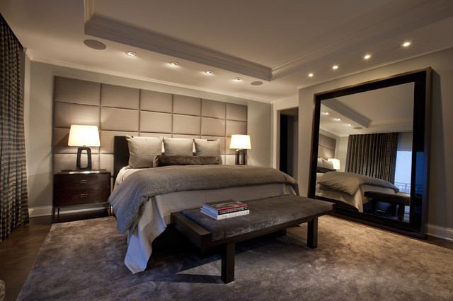 Lincoln park west master bed a Master bedroom ideas houzz