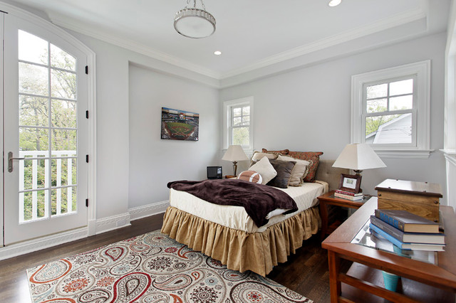 Lincoln, Winnetka contemporary-bedroom
