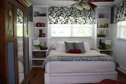 Designing home 10 design solutions for small bedrooms - Small space storage solutions for bedroom ...