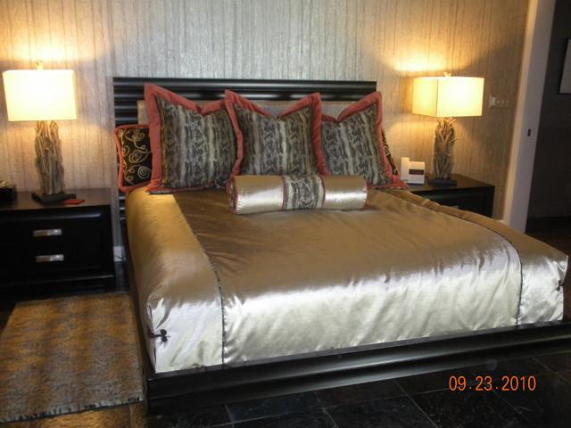 Linda Henderson contemporary-bedroom