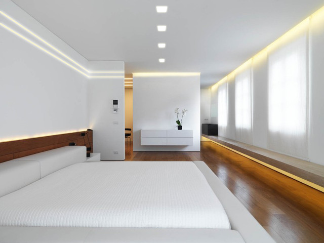 Linear Lighting Bedroom Miami By Advanced Led Technology