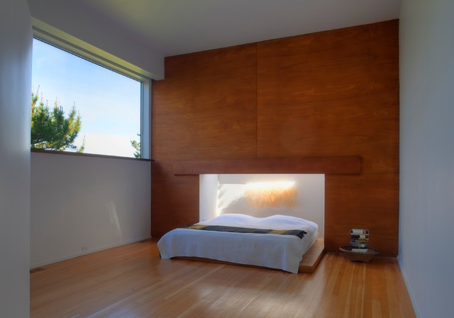 Ling House contemporary-bedroom