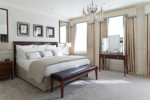 listed mayfair traditional bedroom london by cochrane design