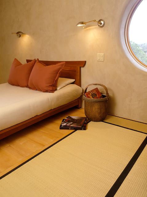 Little EcoNest, Santa Fe NM asian-bedroom