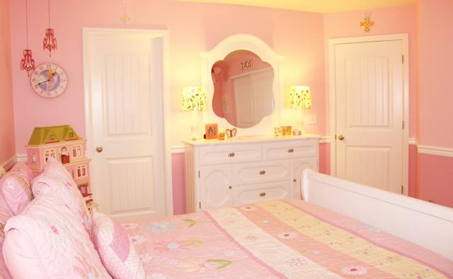 Little girl s dream bedroom traditional bedroom denver