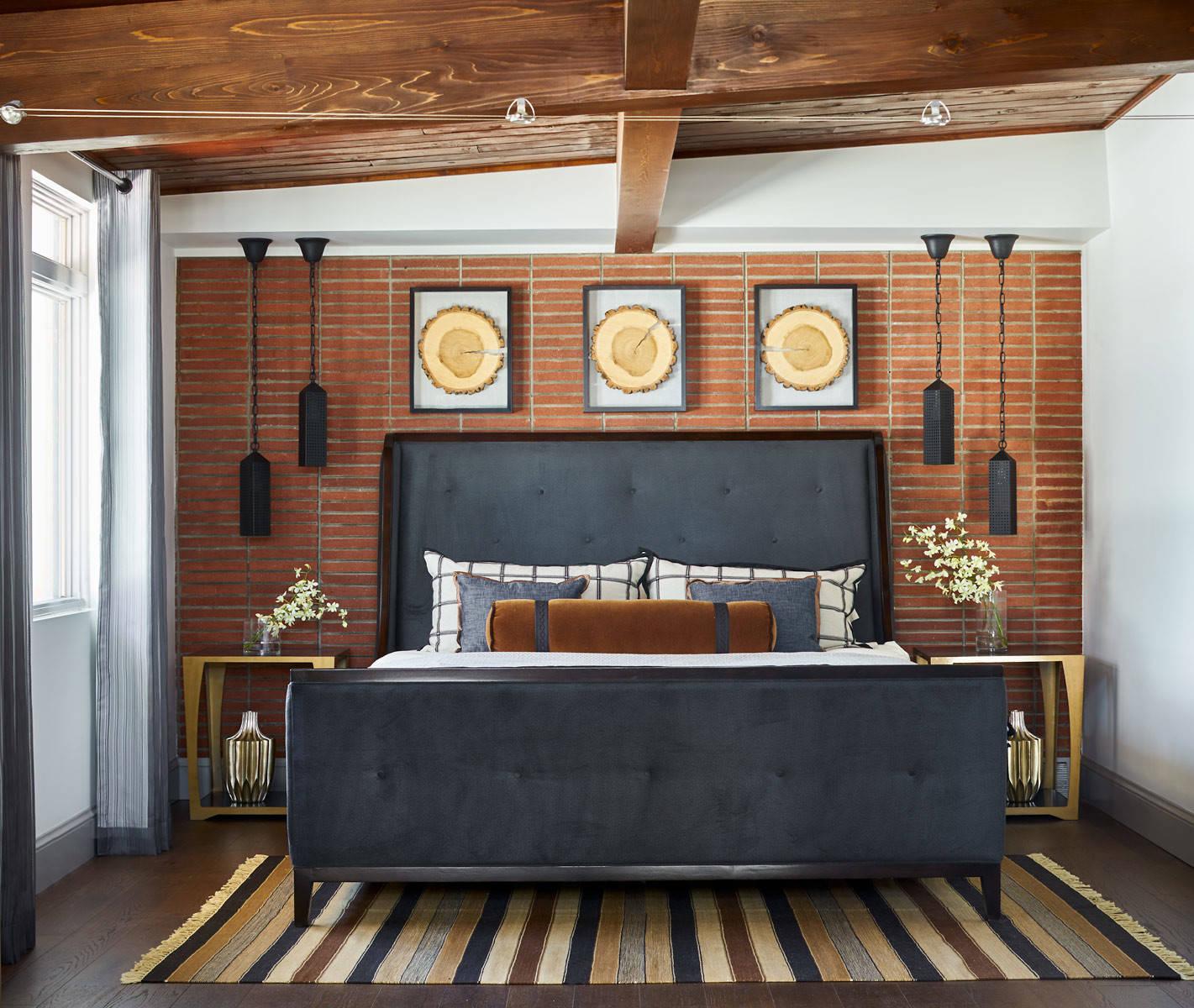 Front Range Ranch Master Bedroom