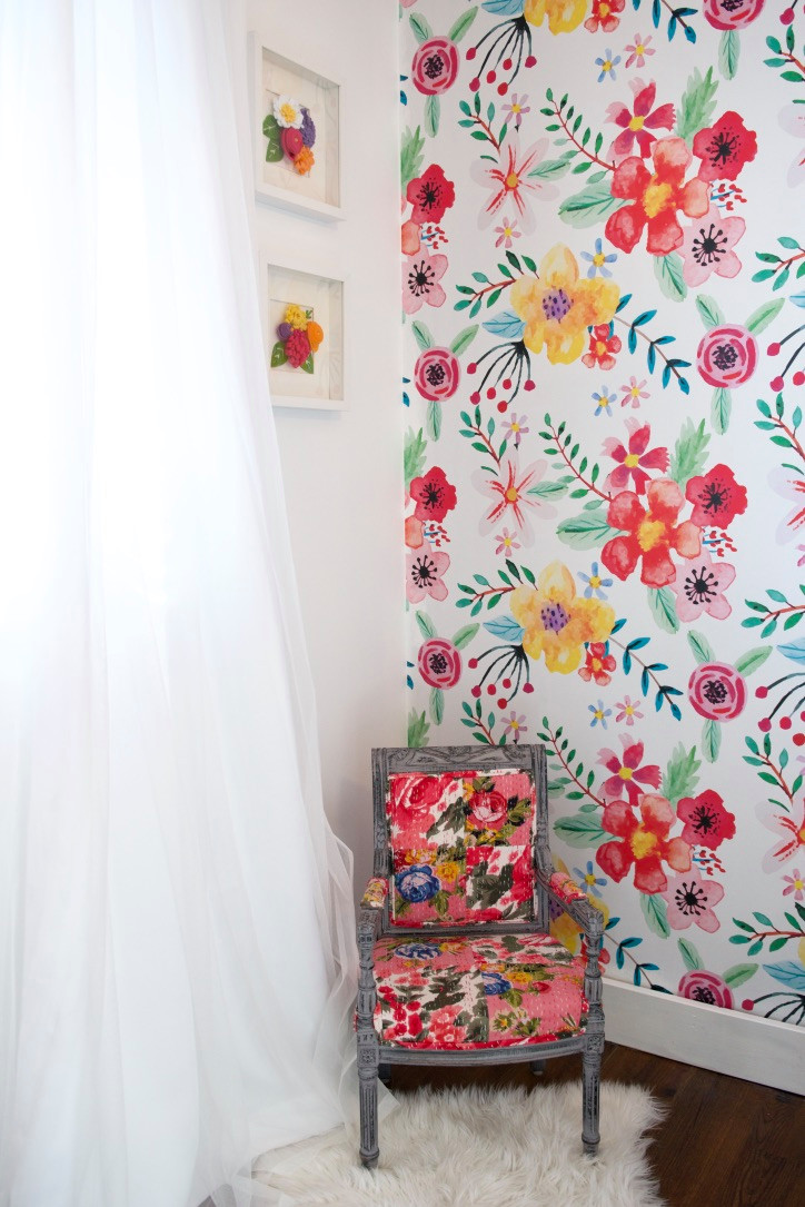 Live Life Colorfully - little girl's room