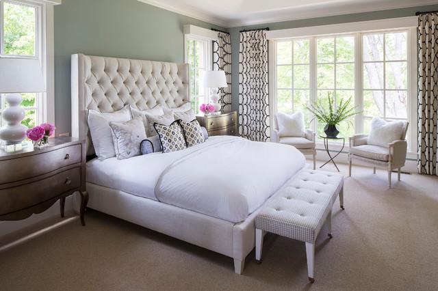 Locust Hills Drive Residence 2 transitional-bedroom