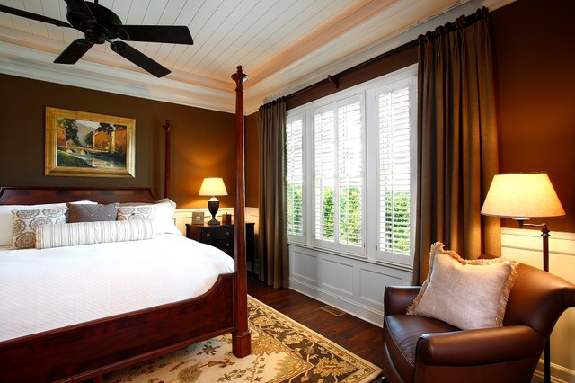 Lodge Cottages - European traditional-bedroom