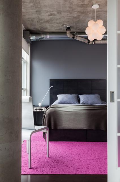 Loft 002 modern-bedroom