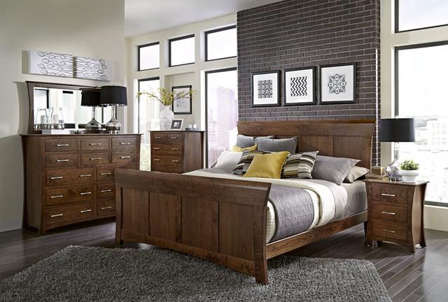 Loft Bedroom Set Modern Bedroom Dallas By Woodbine Furniture