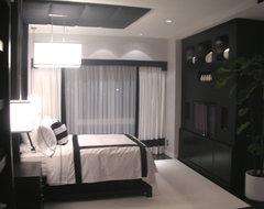 Loft modern-bedroom
