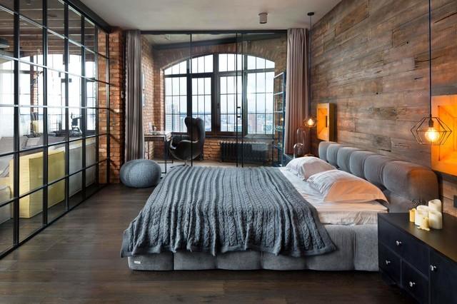 Loft design, loft style in the interior - Industrial ...
