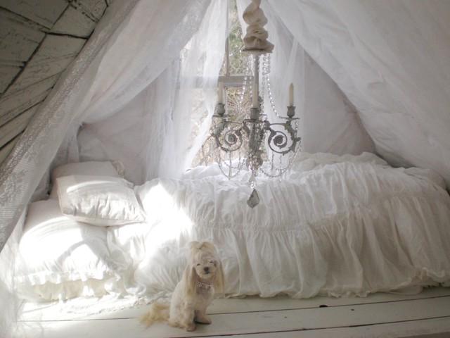 Loft traditional-bedroom