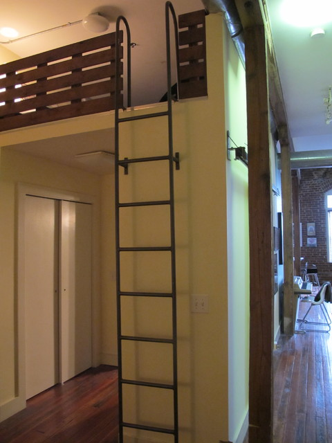tiny attic space ideas - Loft Ladder